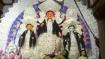 বনেদি বাড়ির দুর্গা ২০২০:  সখী বেশে জানবাজারের রাণি রাসমণির বাড়ির পুজো করেছিলেন রামকৃষ্ণ