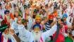 ভারত বনধের মাঝে ধুন্ধুমার পরিস্থিতি দিল্লি-হরিয়ানা সীমান্তে