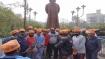 রবীন্দ্রনাথ ঠাকুরের মূর্তি 'শুদ্ধিকরণ' সায়ন্তনের! তৃণমূলকে নিশানা