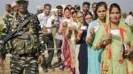 ভোটের আগে বসিরহাটে কেন্দ্রীয় বাহিনীর রুটমার্চ