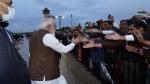 ওয়াশিংটনে পৌঁছলেন  মোদী,  ভারতীয়দের উষ্ণ অভ্যর্থনায় আপ্লুত প্রধানমন্ত্রী