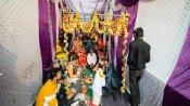অশান্তি দিল্লিতেই অন্য ছবি, গোকুলপুরীতে বিয়ে সারলেন যুগল