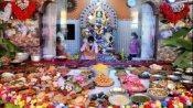 বৈকুণ্ঠপুরে ৬৫০ পদে ভোগ সাজিয়ে দেবী জগদ্ধাত্রী আরাধনা