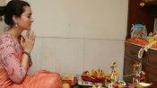 বাগদেবীর আরাধনায় মেতে উঠল টলিউড ও টেলি জগতের তারকারা