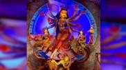 কল্পতরু রূপী দুর্গা মায়ের দর্শনে কুমারটুলি সর্বজনীনে মানুষের ঢল