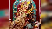 বাবু বাগানে পটের কাজে পরিবেশ রক্ষার মহান বার্তা