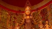 ১১০ বছরে বৃন্দাবন মাতৃমন্দিরের পুজোর থিম বাংলার শিল্প