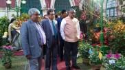 কলকাতা হাইকোর্টে বসল পুষ্প প্রদর্শনীর আসর