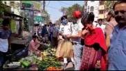 লকডাউনের আগে কালোবাজারি নিয়ে প্রশাসনের নজরদারি