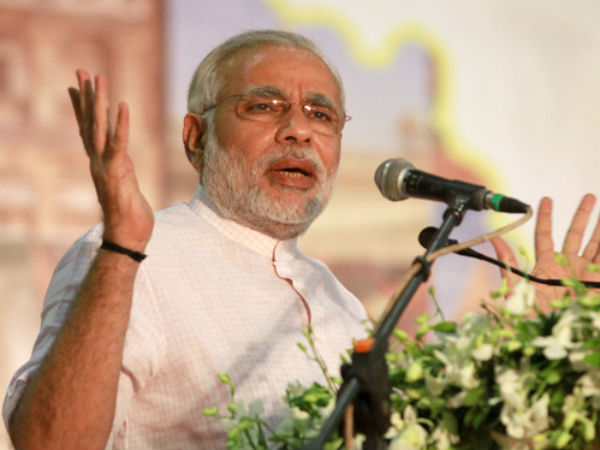 Oust Congress for your children's sake: Modi