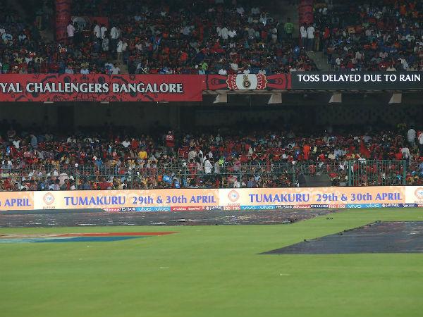 IPL 10 : বৃষ্টিতে ভেস্তে গেল ব্যাঙ্গালোর বনাম হায়দ্রাবাদের ম্যাচ, অস্বস্তিতে বিরাট বাহিনী