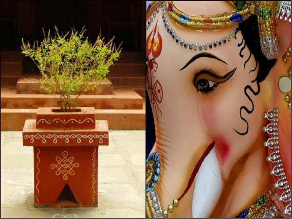 Why Tulsi Is Not Offered Ganesha Know The Love Story