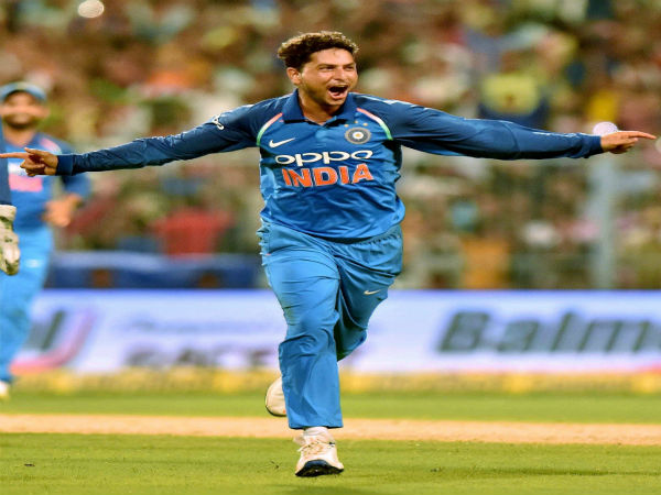 Twitter Blasts With Wishes After Kuldeep Yadav S Hattrick