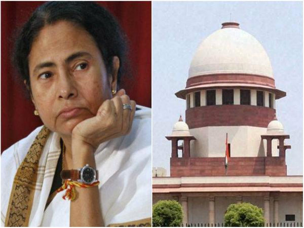 Mamata Banerjee Move Sc On Immersion Order