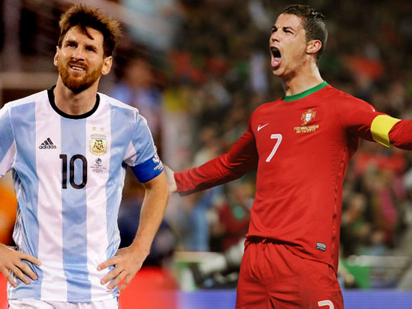 Cristiano Ronaldo Beats Lionel Messi A Popular Fifa Football