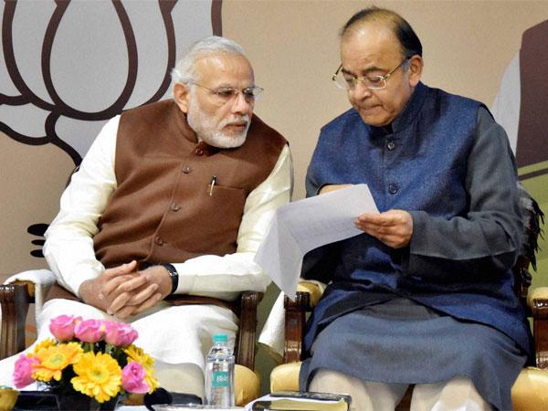Pm Narendra Modi Meet Fm Arun Jaitley Officials Review Economic Situation India