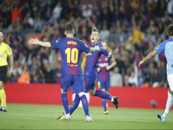 Barcelona Registrer Win A Controversial Match Against Malaga
