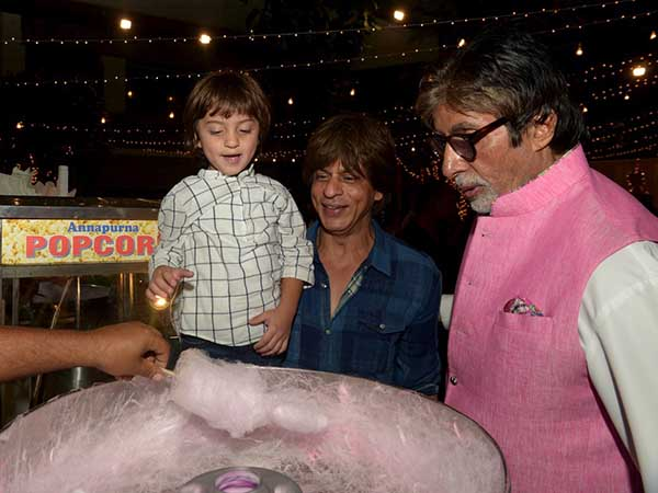 Abram Demands Candy His Pic With Amitabh Sharukh Goes Viral