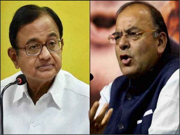 Chidambaram Takes On Jaitley On Note Ban Asks If It S Ethical Let Millions Suffer