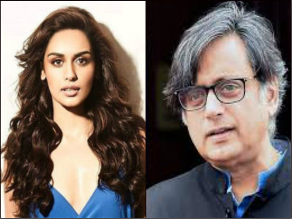 Manushi Chillar Replies Tharoor S Tongue Cheek Remark