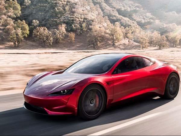 Super Car Tesla Unveiled Elon Musk