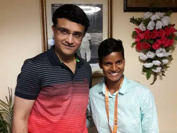 Deepti Sharma Gets Emotional After Meeting His Idol Sourav Ganguly