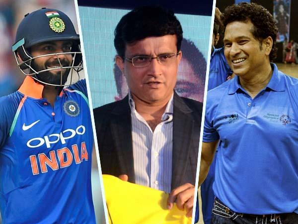 Sourav Ganguly Praises Virat Kohli But Not Ready Compare With Sachin Tendulkar