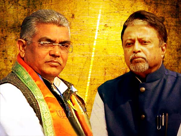 Image result for dilip ghosh mukul roy conflict