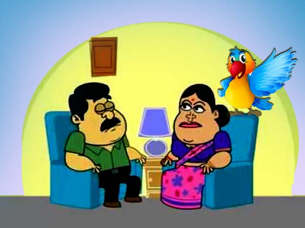 Bengali Funny Jokes On Boltu His Wife S Parrot