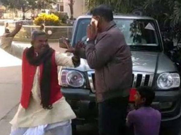 জনসমক্ষে সরকারি আধিকারিককে থাপ্পড় এই বিজেপি নেতার, কেন জানেন, দেখুন চাঞ্চল্যকর ভিডিও
