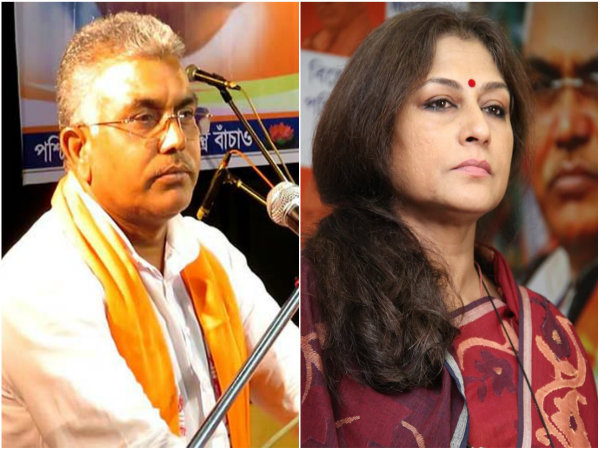 Bjp S State President Dilip Ghosh Is Attacked Roopa Ganguli On Twitter