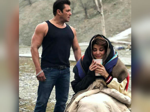 Salman Khan Jacqueline Fernandez Are Too Hot Handle This Photo Clicked In Kashmir