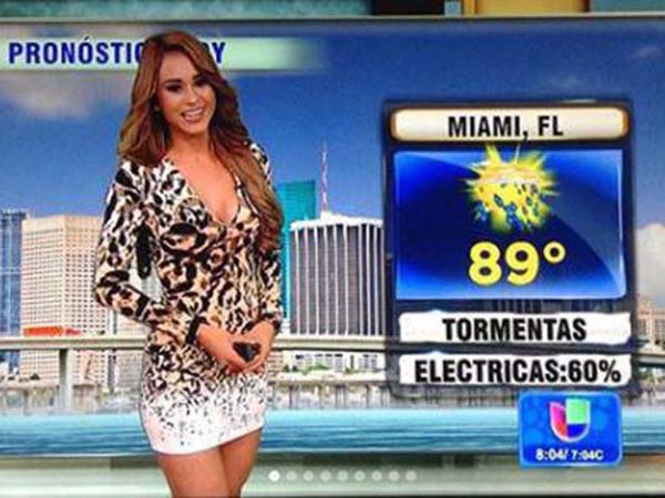 The Story Weather Presenter Yanent Garcia Will Surprise You