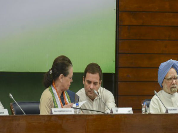 Congress Working Committee Leaders Push Strengthening Alliance Before 2019