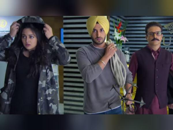 Happy Phirr Bhag Jayegi Movie Review Sonakshi Sinha Starrer Fails To Tell The Story