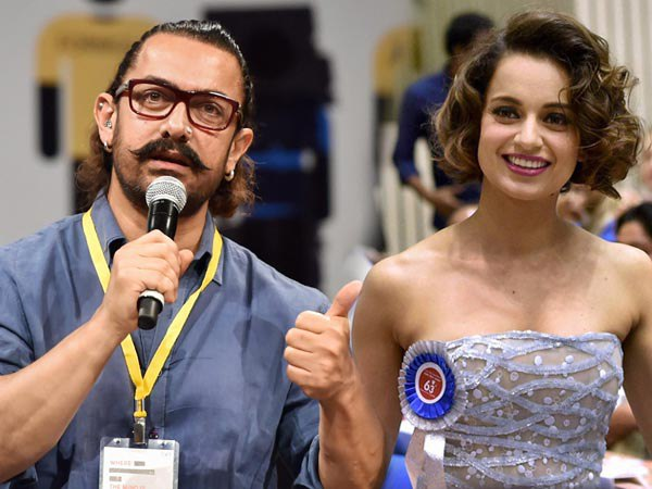 Kangana Ranaut Finds Support Aamir Khan