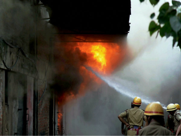 How Kolkata City Is Danger Zone Respect Fire Dousing Situation Over Years