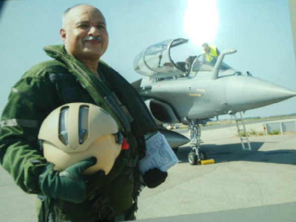 Iaf Deputy Chief Flies First Rafale Jet Made Dassault India