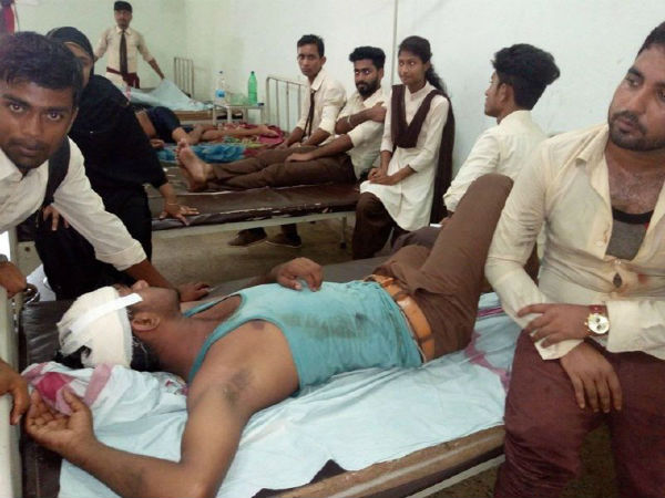 Clash Between Two Student Organisations At Kailasahar Tripura