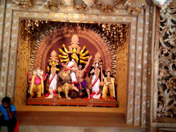 What Is The Special Attraction Kolkata S Jodhpur Park Durga Puja 2018