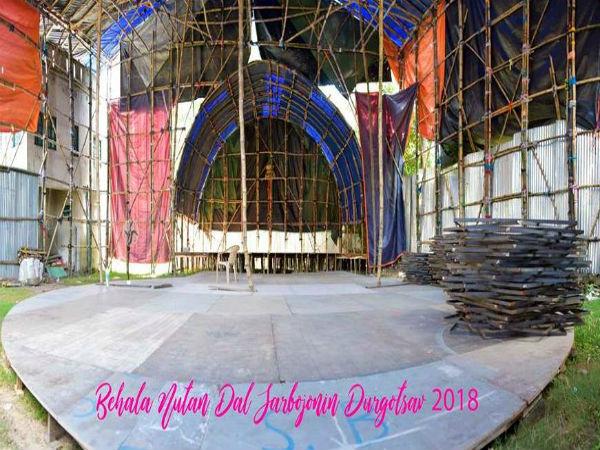 শৈশব বাঁচাও-এর ডাক বেহালা নতুন দলের দেবীর আরাধনায়