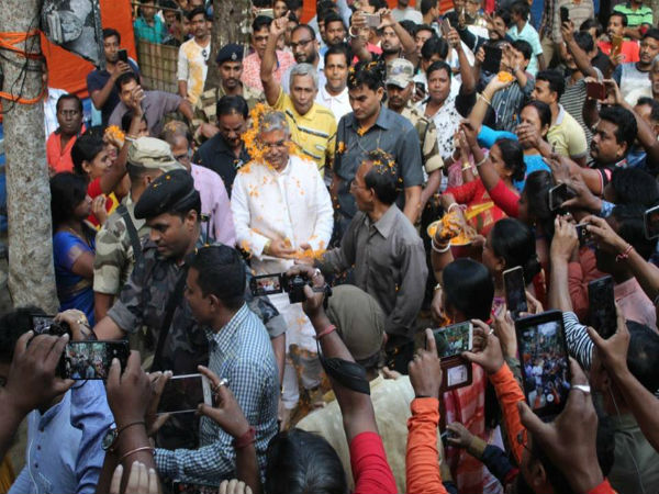 We Want Amit Shah Contest From Bengal Says State Bjp Chief Dilip Ghosh