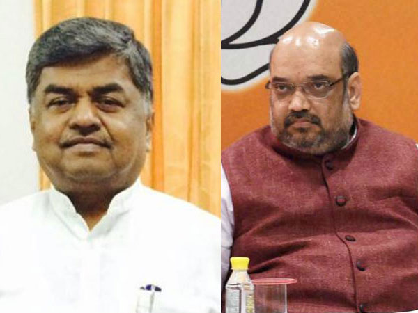 Congress Mp Hariprasad Says Bjp President Amit Shah Suffering From Suar Ka Zukam