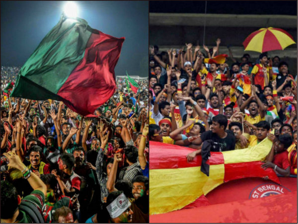 Mohun Bagan won I League Derby against East Bengal by 2-1 goals