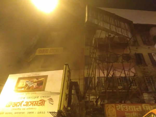 Reaction The Resident The Multi Storied Building Which Caught Fire At Gariahat