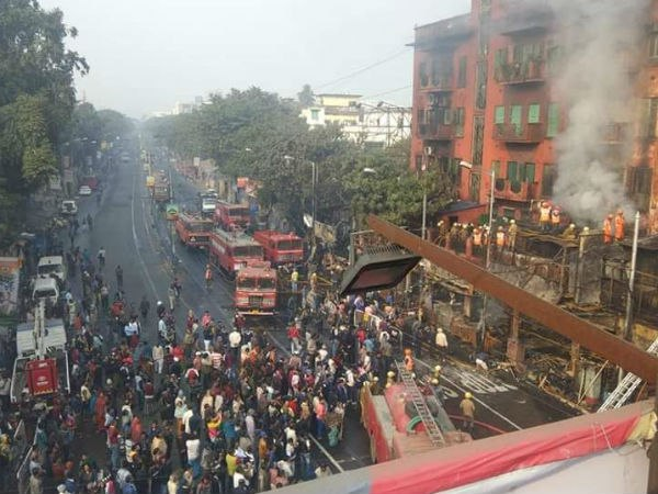 Get The Live Updates Gariahat Fire