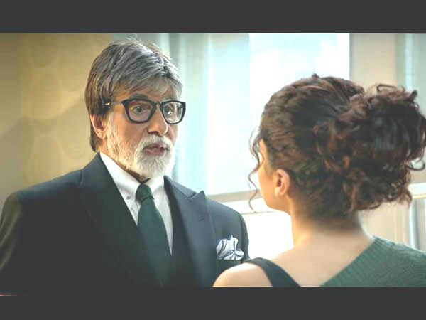 Badla Movie Review Amitabh Bachchan Taapsee Pannu Starrer Mystery Thriller Is Captivating So Far