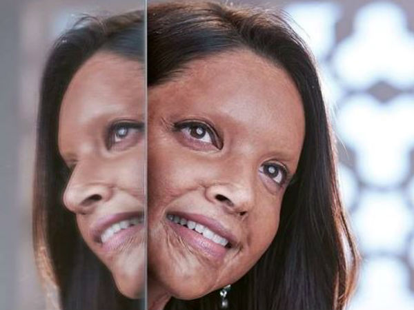 Deepika Padukone Poses Chhapaak Heres The First Look