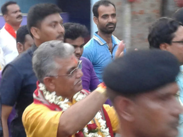 Bjp Candidate Dilip Ghosh Is Hopeful Win Midnapur Lok Sabha Seat