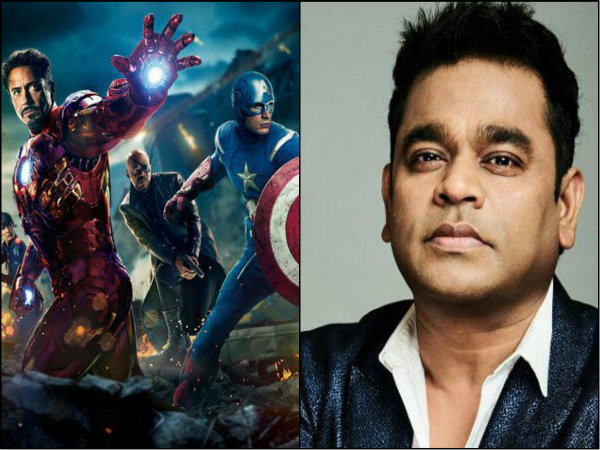 Ar Rahman Compose Marvel Anthem Indian Fans
